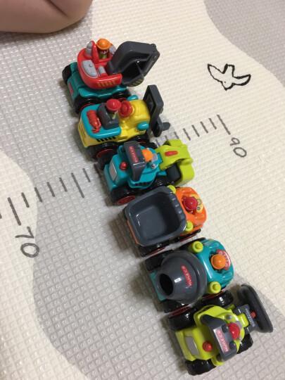 汇乐玩具 汽车玩具卡车工程车校园巴士全能救护车警车男孩女孩玩具 欢乐音控摇摇校巴908 晒单图