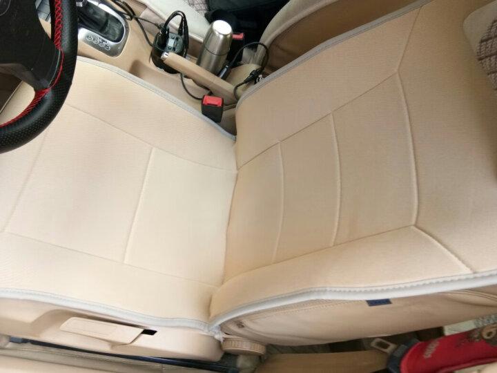 金銮殿 汽车加热坐垫 冬季车载座椅加热垫 适用于12V通用 米色 单座加热 晒单图