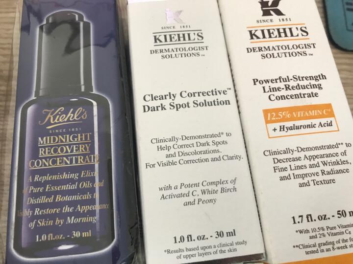 科颜氏(Kiehl's)夜间修护精华液30ml(补水保湿提拉紧致  精华液 精华乳 精华露) 晒单图