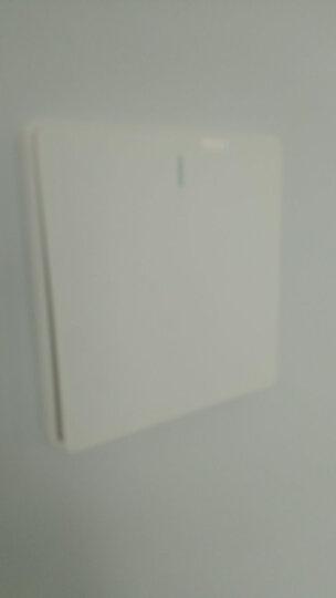 公牛(BULL) 开关插座 G18系列 斜五孔开关 86型插座面板G18Z223A 白色 10只装套装 暗装插座 晒单图