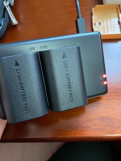 沣标(FB) LP-E6 两电双充套装 For佳能60D 70D 80D 7D2 6D2 5D4/2/3 5DSR数码单反相机可充电锂电池充电器 晒单图