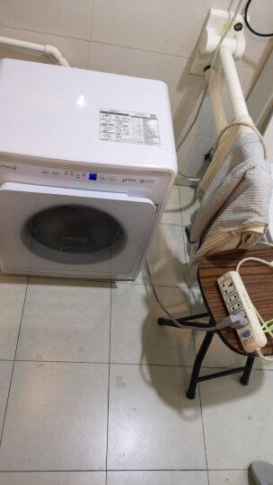 小吉(MINIJ)6 全自动小型滚筒迷你洗衣机 小婴儿内衣变频儿童宝宝 95°高温煮洗 DD变频 云漫白MINIJ 6-W 晒单图
