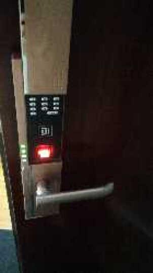 德施曼(DESSMANN) 指纹锁 小嘀家用指纹锁云智能锁电子锁指纹密码锁防盗门锁 T7 T7PLUS镍拉丝【新升级触屏】 晒单图