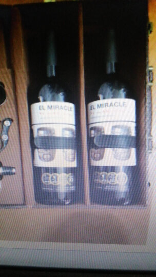 京东海外直采 西班牙奇迹干红葡萄酒/红酒 750ml*2 黑色双支精品皮盒装 原瓶进口 晒单图