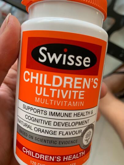澳洲进口 Swisse 儿童鱼油胶囊 50粒/瓶 儿童鱼油 无腥味 含DHA 晒单图