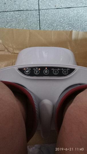 迪斯(Desleep) 美国品牌足疗机 腿部按摩器 F16 足部脚底按摩仪美腿机 玫瑰金 晒单图