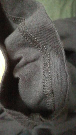 短袖t恤男 班尼路 潮流新品情侣男士t恤圆领多色纯色打底衫男纯棉上衣半袖夏天 20E L 晒单图