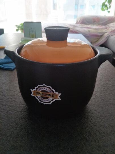光合生活 砂锅煲汤锅炖汤锅煲仔饭砂锅沙锅陶瓷瓦罐焖锅炖锅 3000ml适合3-5人 晒单图
