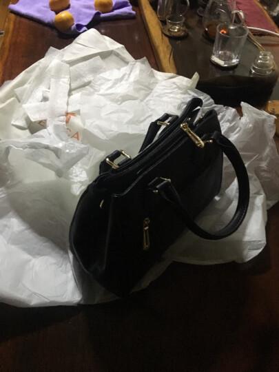 稻草人(MEXICAN)包包女士单肩包手提包大容量两用手拎斜挎包MMD70426L-08 黑色 晒单图