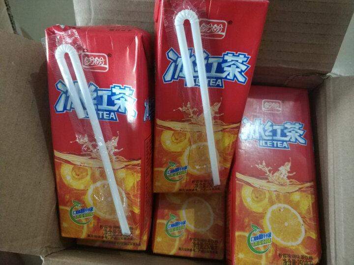 盼盼 水蜜桃冰红茶就是檬饮料果汁250ml*24瓶盒装整箱批发饮品(新老包装随机发货) 水蜜桃 晒单图