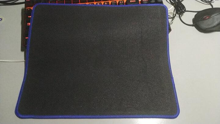 灵蛇(LINGSHE)鼠标垫 700*300*3超大加厚办公游戏鼠标垫 精密锁边 可水洗P19青草 礼盒装 晒单图