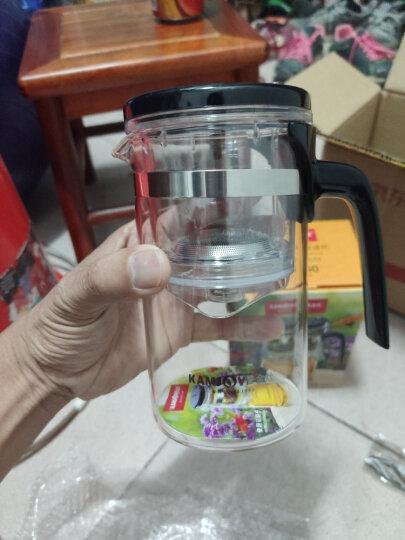 金灶(KAMJOVE) 500ML办公茶具 耐热玻璃茶杯 按压式可拆卸内胆飘逸杯 泡茶壶 花茶壶绿茶杯TP-160 晒单图