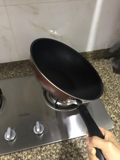 苏泊尔 30CM炫彩易洁不粘炒锅PC30S3珠光红色 晒单图