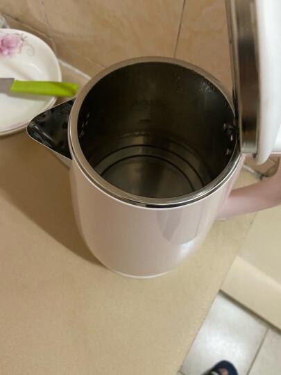 九阳(Joyoung)热水壶烧水壶电水壶 双层防烫304不锈钢 家用大容量电热水壶 K15-F626(邓伦推荐) 晒单图