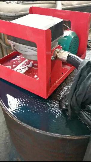 力尚龙大流量车载加油机 稳定计量柴油加油机 加油泵 液体灌装机220V12V24V高速抽油 24V高速计量加油机配普通油枪 晒单图