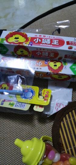 狮王(Lion)小狮王套装(3-6岁牙刷×2+(草莓+桔子+葡萄)儿童牙膏40g×3) 晒单图