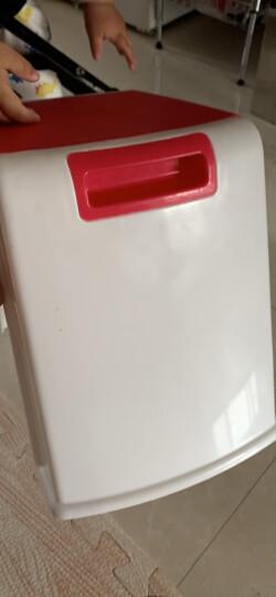 好尔(Hore)凳子 板凳 小凳子 塑料凳子提手中号红色 1个装 晒单图