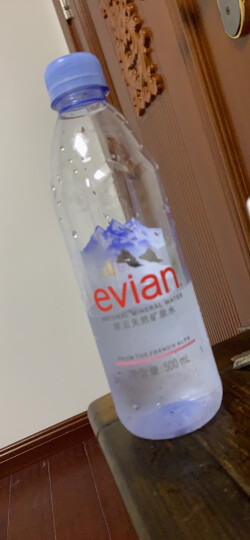 法国原装进口 依云(evian)天然矿泉水 运动瓶盖版 750ml *12瓶 整箱 晒单图