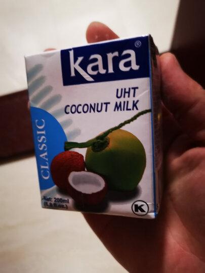 kara佳乐椰浆200ml印尼进口浓椰汁椰子汁烘焙甜点椰浆西米露材料 晒单图