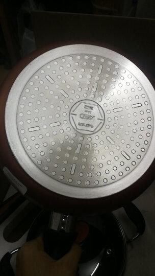 爱仕达 锅具套装 炒锅不粘锅套装锅 煎锅汤锅三件套装平底电磁炉炒锅送锅铲WG03CTJ2 晒单图