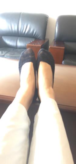 俞兆林袜子女隐形袜蕾丝防滑防脱透气船袜子女士袜双重硅胶浅口冰丝短袜子 晒单图