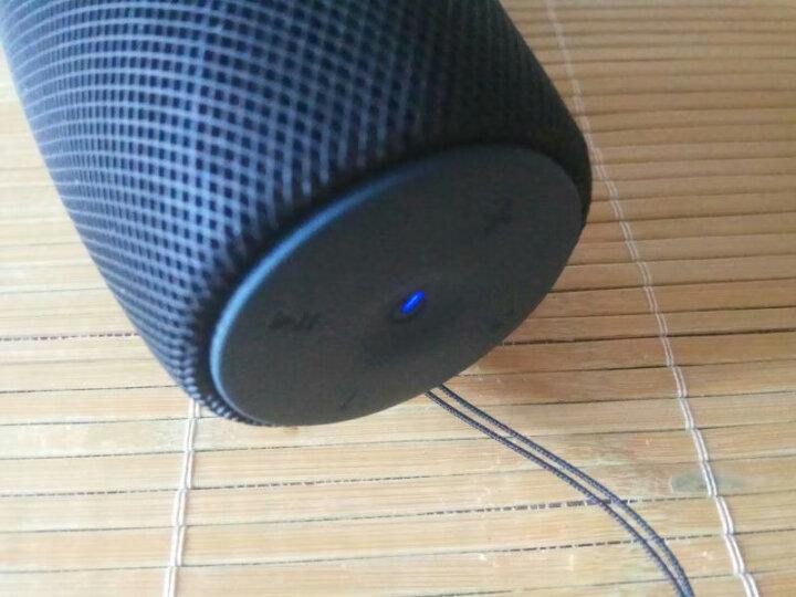 飞利浦(PHILIPS)BT7900A 音乐大号角 防水蓝牙布艺音箱 大功率户外便携迷你音响 低音炮 免提通话 蓝色 晒单图