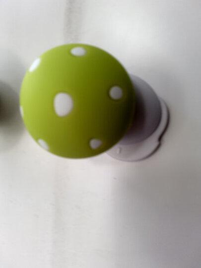 棒棒猪(BabyBBZ) 硅胶宝宝防门 夹手安全门卡门塞1盒2个装 蘑菇门档 绿色 BBZ-55 晒单图