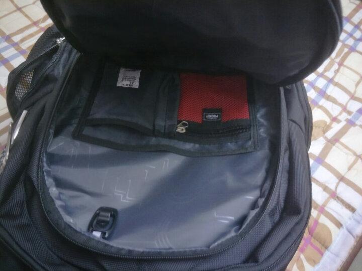 十字勋章 瑞士防盗背包男士双肩包商务轻便笔记本电脑包多功能学生书包大容量旅游行李包 15.6英寸升级版【密码锁+USB接口】 晒单图