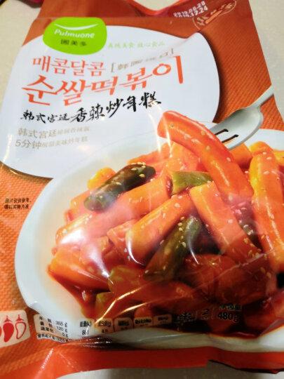 圃美多 香辣炒年糕 480g (方便菜 韩式料理 精选大米) 晒单图