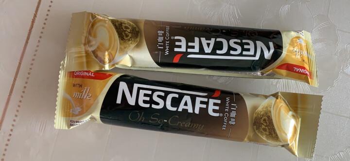 马来西亚进口 雀巢(Nestle)进口丝绒白咖啡经典原味540g(15条*36g) 晒单图
