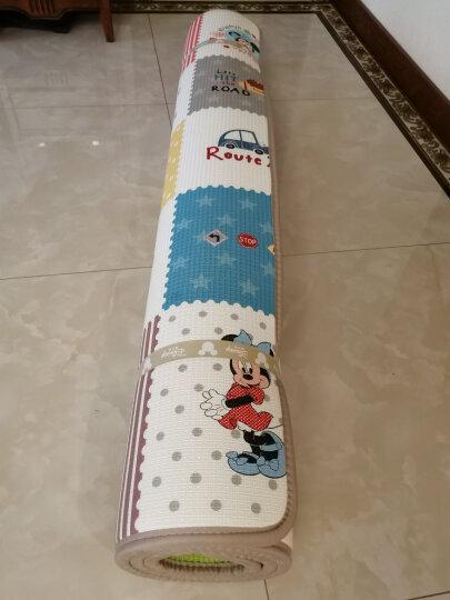 迪士尼DISNEY宝宝爬行垫 加厚XPE双面婴儿爬行垫儿童地垫爬爬垫 200*180*1cm 晒单图