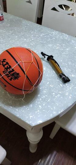 红双喜蓝球儿童小学生幼儿园5号3号6号7号男女成人lanqiu三五号篮球 7号篮球建议12岁以上 送打气筒气针网兜 晒单图