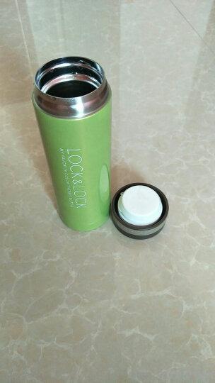 乐扣乐扣(lock&lock)不锈钢纤巧便携保温杯茶水杯车载商务杯子(200ml)黑色 晒单图