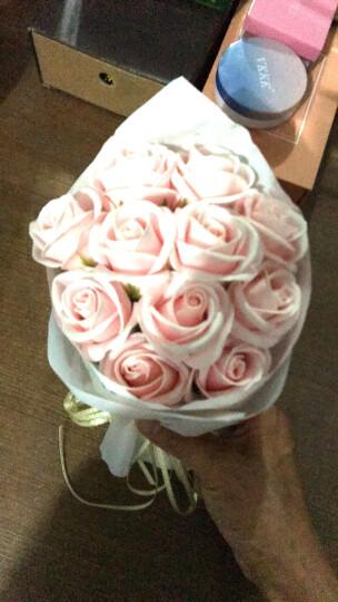 初朵保鲜花速递11朵红色圆手捧香皂玫瑰花礼盒同城送花三八妇女节女神节礼物鲜花礼物生日纪念日送女友送老婆 晒单图
