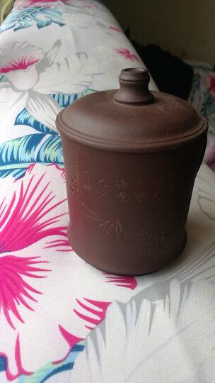 尊壶 紫砂杯带过滤茶杯茶水分离杯大容量水杯办公室泡茶杯 紫砂茶杯套装 茶具四件套礼盒 晒单图