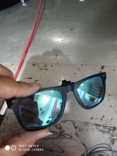 宝岛眼镜 目戏太阳镜夹片 男女时尚复古韩版流行情侣轻质款 高清偏光多用途框架可用墨镜防紫外线夹片 3026-C19 晒单图