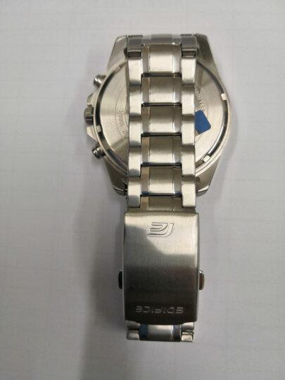 卡西欧(CASIO)男士手表 防水石英男表 白盘棕色皮带BEM-520BUL-7A2 晒单图