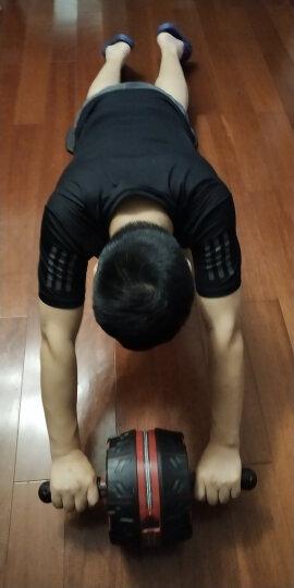 美国斯诺德健腹轮 自动回弹静音巨轮 收腹滚轮腹肌轮健身器材 智能中国红 晒单图