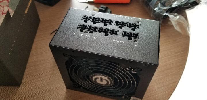 长城(GreatWall) 额定450W HOPE-5500ZK电脑电源 (智控0分贝/台系主电容/75cm长线材/宽电压/3年质保) 晒单图