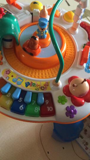 谷雨婴儿玩具1-3岁幼儿宝宝多功能早教游戏桌双语学习桌儿童益智力开发玩具台小孩礼物0-1周岁2岁绕珠 声光音乐充电版谷雨游戏桌玩具8866 晒单图