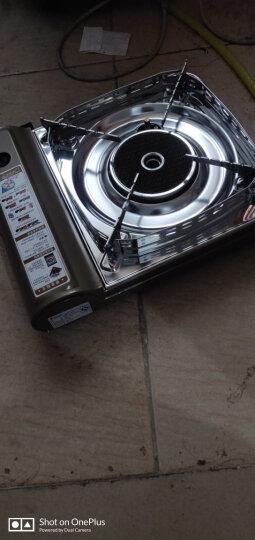 脉鲜(MAXSUN)卡式炉 防风节能户外炉具 便携燃气灶 瓦斯炉 火锅炉 家用烤肉炉 卡磁炉 卡斯炉 炉具+火锅+4瓶燃气 晒单图