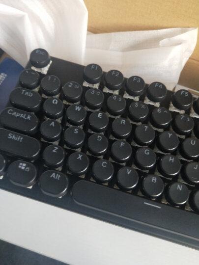 魔炼者 1505 (MK5) 108键复古圆键帽机械键盘 游戏机械 吃鸡键盘 背光键盘 电脑键盘 笔记本键盘 黑色 青轴 晒单图