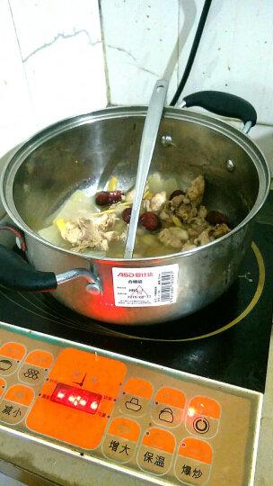 爱仕达 22CM不锈钢汤锅C1722 炖汤锅煲汤锅 电木手柄隔热防烫 电磁炉可用 晒单图