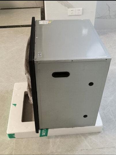 森太(SETIR) F287消毒柜双开门嵌入式家用厨房消毒碗柜 120L十二键负离子净化 晒单图