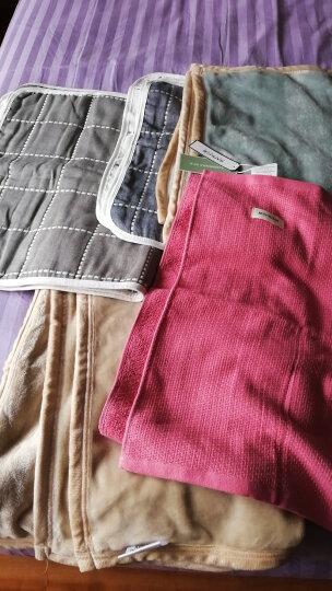 三利 精梳棉纱布网织枕巾1条 72×51cm AB版潮款 三色可选 随意组合搭配 浓粉色 晒单图