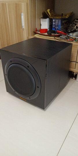 诺普声(Nobsound) SUB 有源低音炮音箱家庭影院电脑底音炮功放家用客厅音响8吋10吋12吋 SUB100有源低音炮黑色 晒单图
