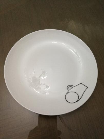 国玥 陶瓷盘子套装骨瓷西餐盘创意西式小牛排盘骨碟物语 8英寸4个盘套装(不指定花色,花色随机发) 晒单图