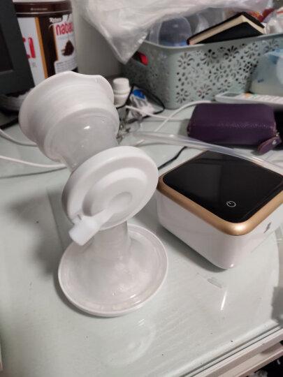 小白熊 电动吸奶器 锂电池可充电式 吸乳器 拔奶器 静音按摩无痛吸力大 电动挤奶器待产包 晒单图