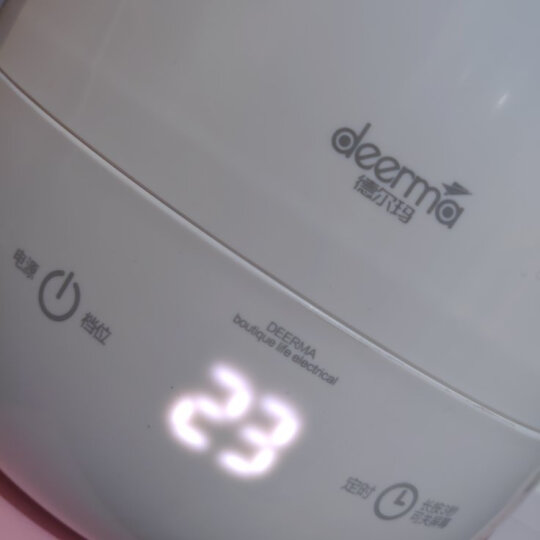 德尔玛(Deerma)加湿器 5L大容量 触控感温 家用迷你香薰增湿 办公室空气加湿 DEM-F600(白) 晒单图