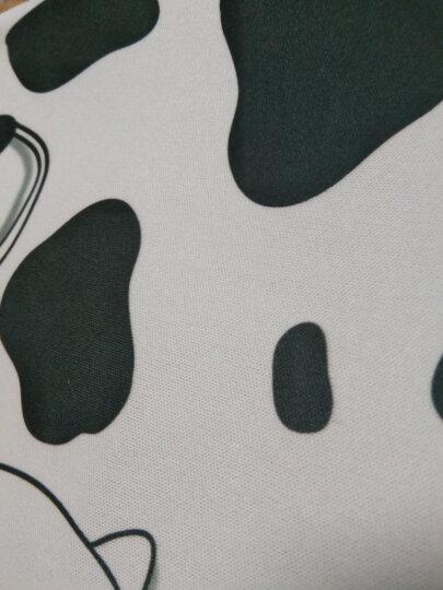 动漫可爱护腕鼠标垫子小号 办公电脑笔记本细面卡通硅胶女生苹果加厚游戏手腕垫腕托 月亮黑猫咪-护腕鼠标垫 晒单图
